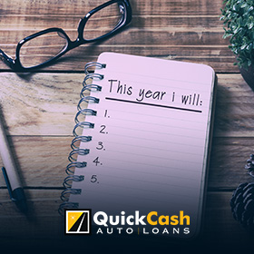 New Year's Resolution With The Help Of A Title Loan