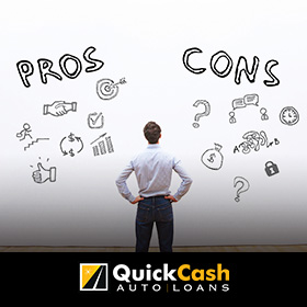 Pros and Cons of Car Title Loans