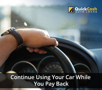 Keep your car as you receive your Title Loan
