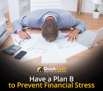 Person Under Financial Stress