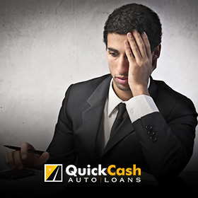 Picture of a Young Miami Professional With Money Worries, a Car Title Loan Can Be His Solution