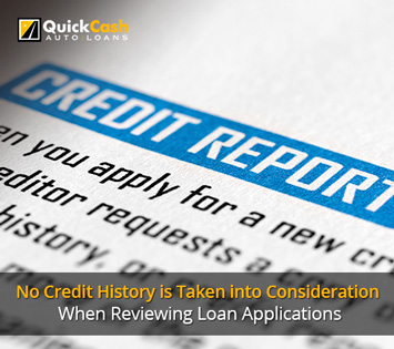 Picture of a Credit Report, Which is not Taken into Consideration for Title Loans at Quick Cash Auto Loans