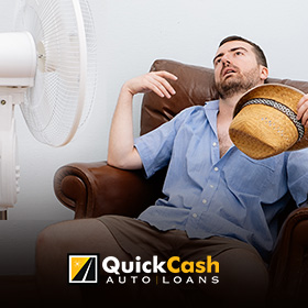 Picture of a Miami Resident in Need of a Functional AC