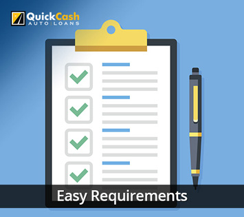 Picture of the Easy Requirements Needed for a Miami Car Title Loan
