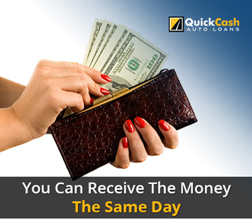 Picture of the cash you can receive the same day with our Miami Car Title Loans